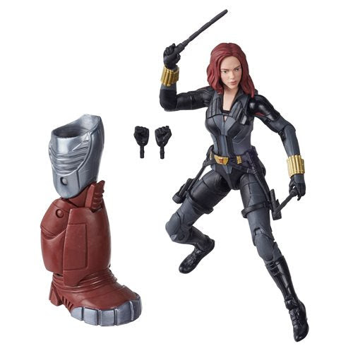 Image of Black Widow Marvel Legends 6-Inch Black Widow Action Figure (Crimson Dynamo BAF)- APRIL 2020