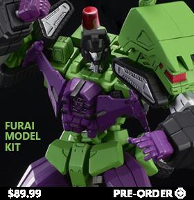 Transformers Furai 11 Devastator Model Kit