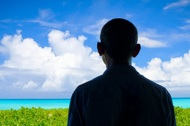 Mr. Obama last week at Midway Atoll, where his expansion of the Papahanaumokuakea Marine National Monument created the world's largest marine preserve.