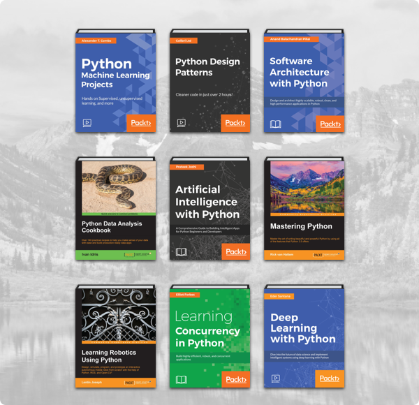 Humble Book Bundle: Python by Packt
