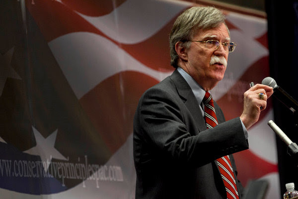 John R. Bolton, who becomes President Trump's national security adviser on Monday, has a track record of voicing strong opinions and bruising colleagues' feelings.