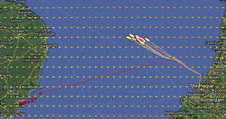 Vuurschepen Race course and fleet