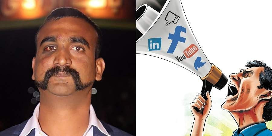 Image result for How social media 'shifted' India's focus to Abhinandan's release