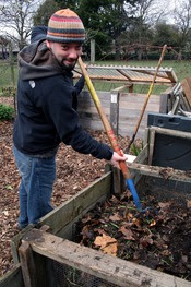 Learn how to make compost
