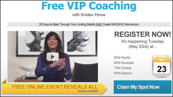 Free VIP Coaching - Create Massive Momentum this year!