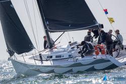 J/109 sailing North Sea regatta
