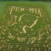 N.J. Farm Makes POW/MIA Flag Corn Maze to Honor Veterans