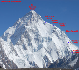 K2 map