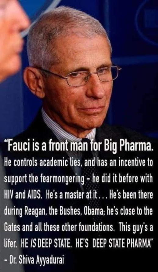 fauci big pharma