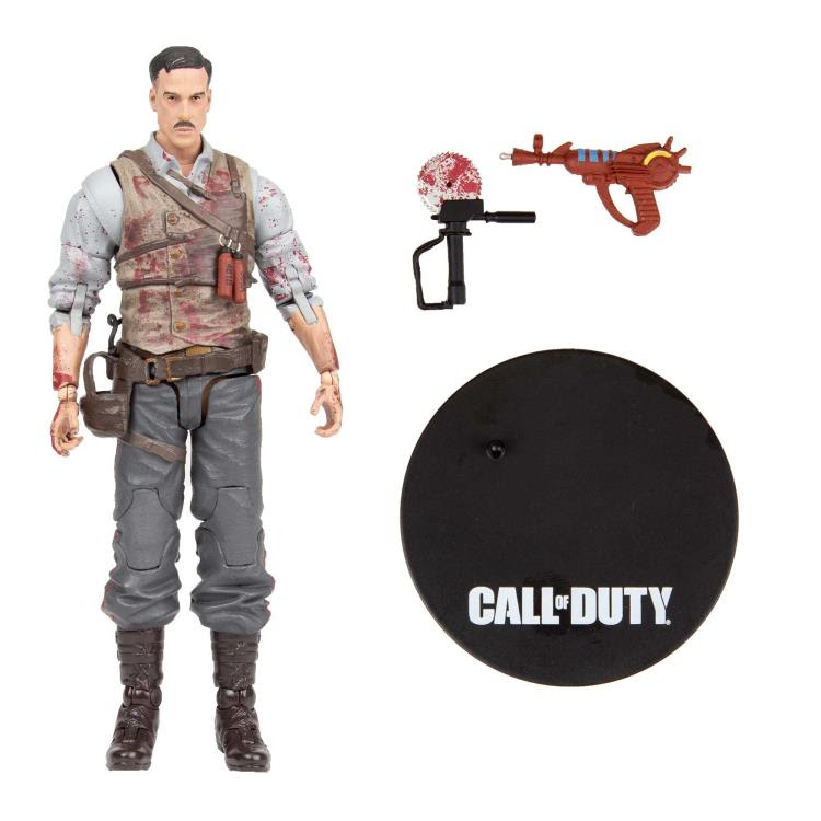 "Image of Call of Duty Dr. Edward Richtofen 7"" Scale Action Figure"