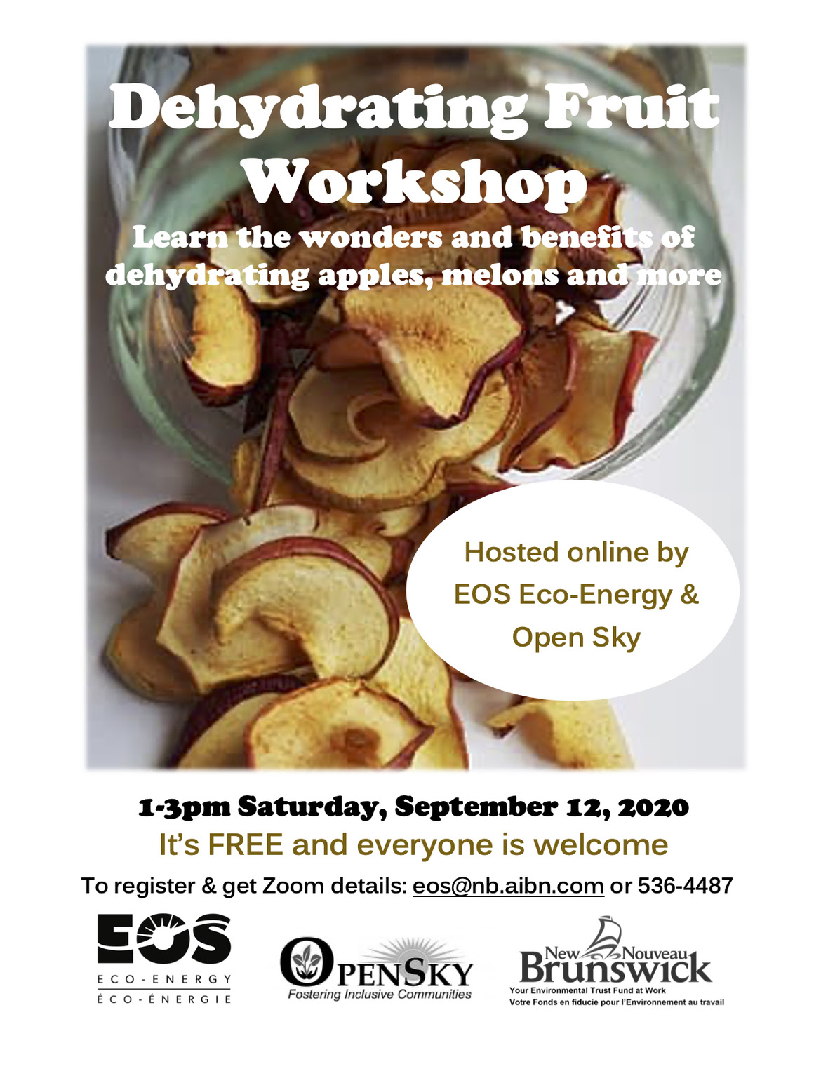 Dehydrating Fruit Workshop