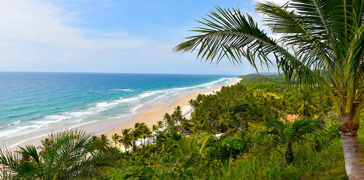 Costa do Cacau com Itacaré e Ilhéus Bahia
