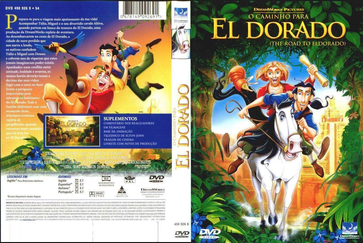 O Caminho Para El Dorado Torrent – BluRay Rip 720p Dublado (2000)