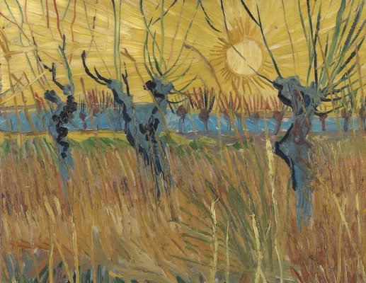 Vincent van Gogh, Pollarded Willows, Arles