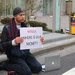 Bitcoin owners last month outside Mt. Gox's offices in Tokyo.