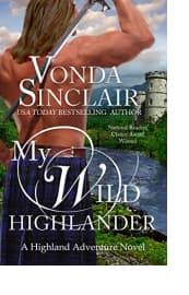 My Wild Highlander by Vonda Sinclair