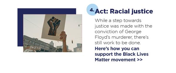 4. Act: Racial justice