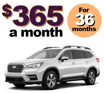 2019 ASCENT 2.4T Premium $365 A MONTH 36 MONTHS