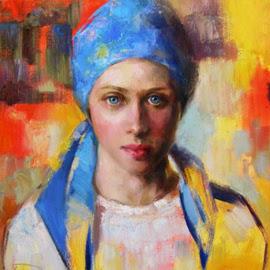 Autorretrato de Ksenia Datsiuk