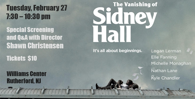 Special Screening and Q&A for The Vanishing of Sidney Hall