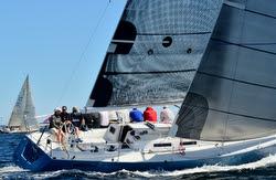 J/120 sailing at Chester Race Week