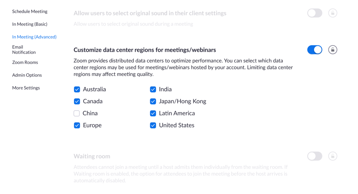 Zoom adds new security settings to let users have more control over their calls and stop routing traffic to china - onmsft. Com - april 14, 2020