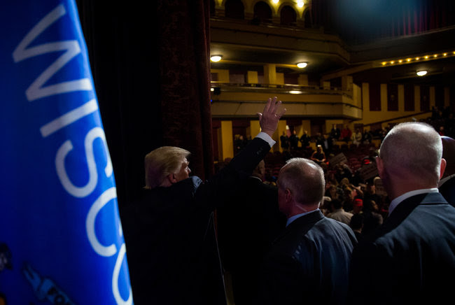 Hillary Clinton last week in Purchase, N.Y.