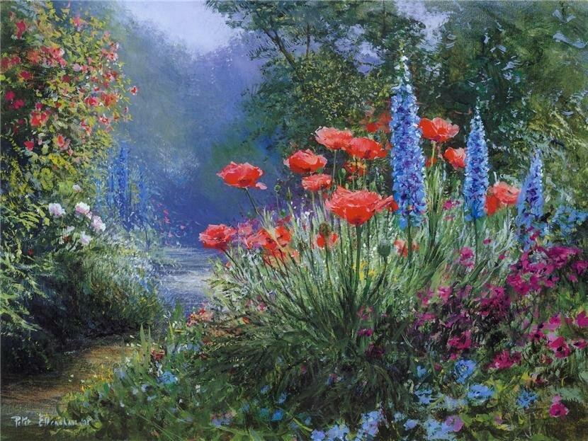 Удивительный пейзаж от Питер Элленшо(PETER ELLENSHAW), пейзаж