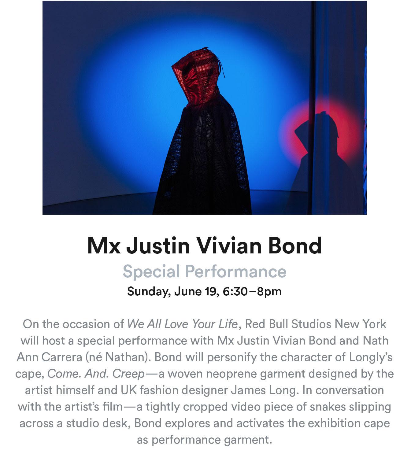 Mx Justin Vivian Bond