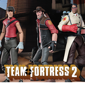 TEAM FORTRESS 2 NECA