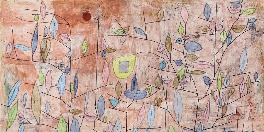Image credit: Spärlich Belaubt (detail), Paul Klee, 1934.