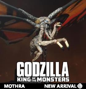 GODZILLA: KING OF THE MONSTERS MOTHRA