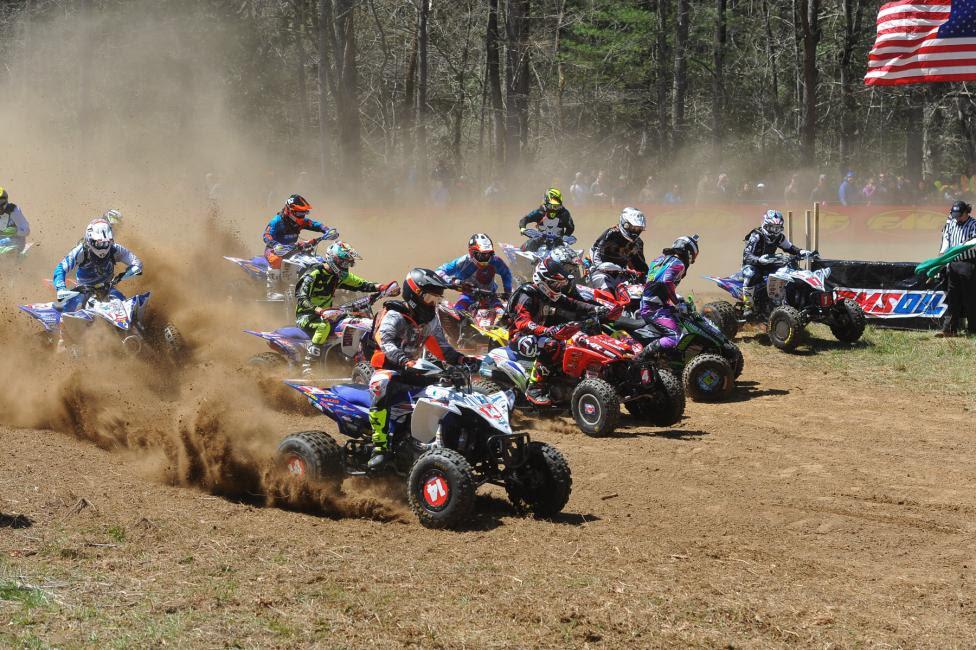 Catch Saturday's ATV racing on RacerTV.com starting at 1 p.m. ET!Photo: Ken Hill