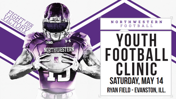 NU Youth Football Clinic poster 2016