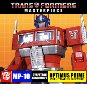 TRANSFORMERS MP-10 MASTERPIECE CONVOY/OPTIMUS PRIME WITH TRAILER REISSUE