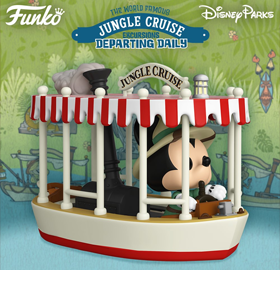 Pop! Rides: Jungle Cruise - Mickey with Boat