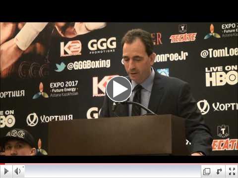 Golovkin - Monroe Final Press Conference