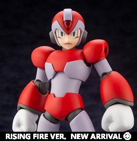 Mega Man X (Rising Fire Ver.) 1/12 Scale Model Kit