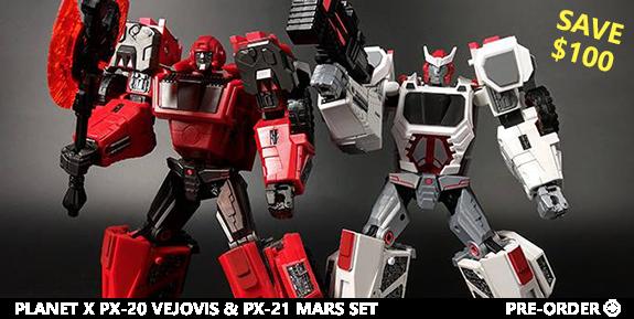 PX-20 Vejovis & PX-21 Mars Set