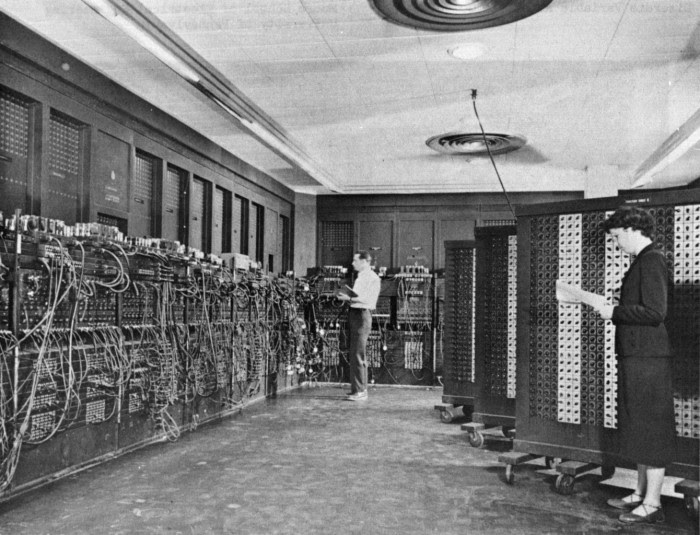 17. In 1946, the world's first computer was used in Philadelphia.