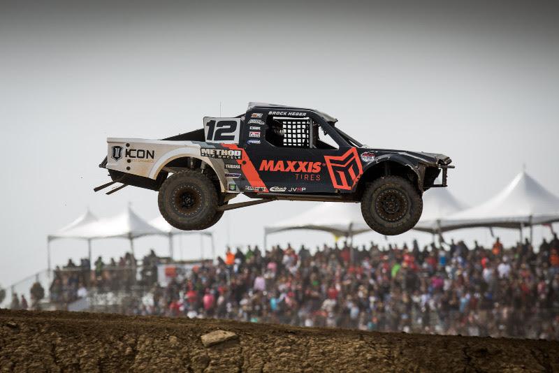 Brock Heger, Maxxis Tires, Icon Dynamics, Method Race Wheels, FiberwerX, Bink Designs