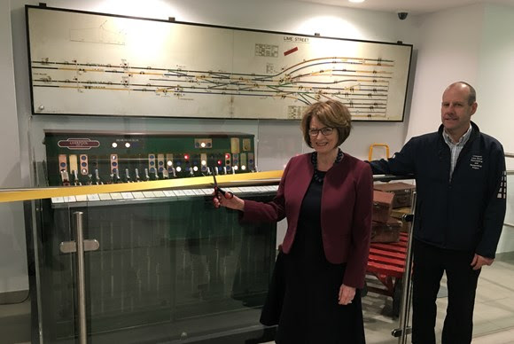 'Mini museum' opens at Liverpool Lime Street to celebrate bygone railway era