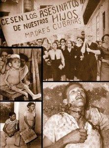 """Parte de la """"obra"""" de Fulgencio Batista"""