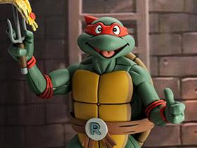 TMNT (Animated Series) Raphael 1/4 Scale Figure