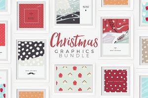 20% OFF: Christmas Graphics Bundle