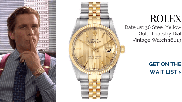 christian bale's Tapestry Vintage Dial