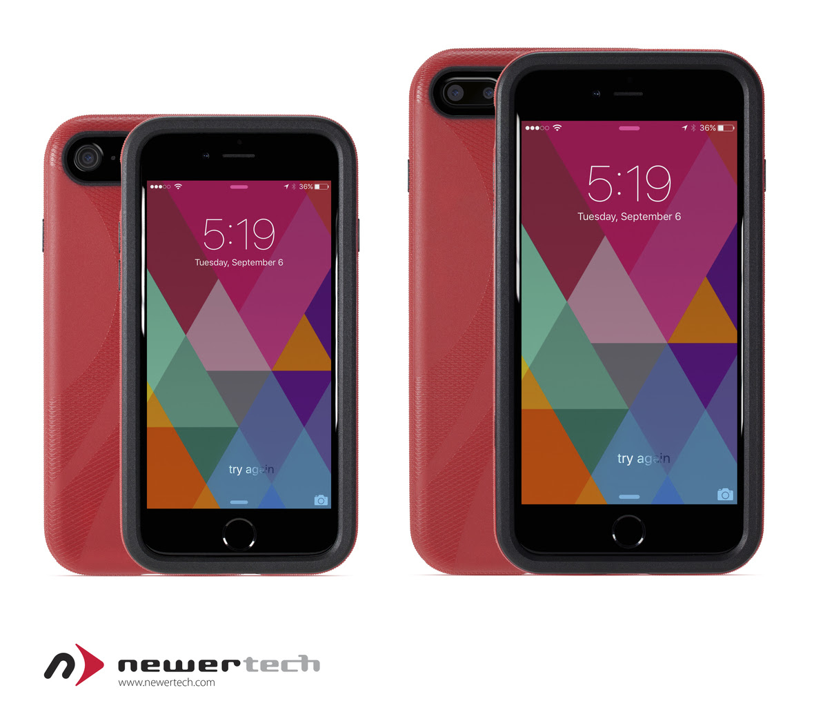NewerTech NuGuard KX Case for iPhone 7 with phone