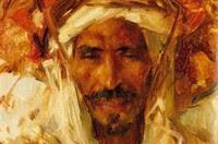 Georges Gasté à Bou Saâda