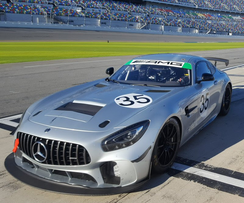 Dylan Murry Mercedes AMG GT4 Daytona test 12 11 18 resize