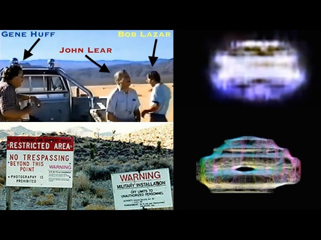 Bob Lazar and Friends Filming Test Flight Alien Craft at Area 51 (1989)  Sddefault